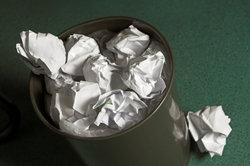 Bei manchen Aufgaben sind Regeln einzuhalten, um Müll zu vermeiden.