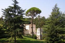 Vatikanische Gärten - ein Ort der Ruhe und Meditation.