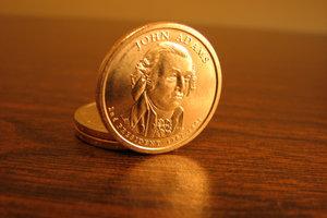 Zaubern mit Münzen braucht nur etwas Übung.