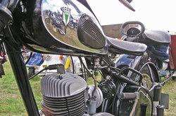 Eine alte DKW ist ein begehrtes Sammlerobjekt.