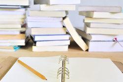 Schularbeiten können sich mitunter an einfachen Dingen entscheiden.