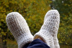 Kuschelige Hüttenschuhe für kalte Tage