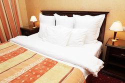 Mit Textilstiften können Sie Ihre Bettwäsche bemalen.