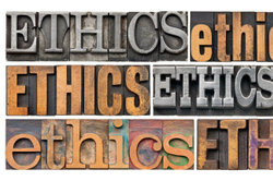 Die Ethik ist ein komplexes Thema.