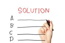 Bei Teamwork hat jeder seinen Lösungsweg im Kopf.