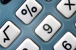 Einige Taschenrechner besitzen eine %-Taste zur Anwendung bei mathematischen Berechnungen.