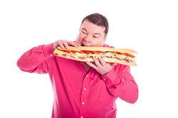 Amerikanische Sandwichs sind für gute Esser.