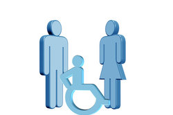 Eine Behinderung stellt meist eine starke Beeinträchtigung dar.