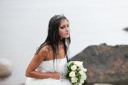 Was für ein Hochzeitskleid!