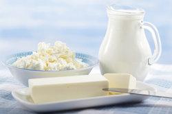 Quark ist ein Milchprodukt und gut verträglich.