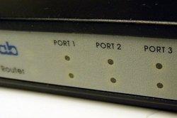 Sicherheitseinstellungen beim Router vornehmen.