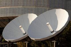 Der DX 10 empfängt Satellitenfernsehen.