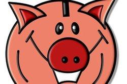 Wie viel kann in das Sparschwein?