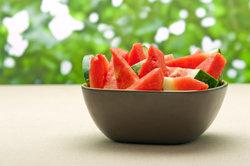 Wassermelone wirkt sanft abführend.