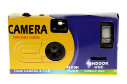 Einwegkameras besitzen den Charme des Einfachen.