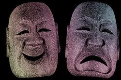 Aus Gips können Sie sich tolle Masken basteln.