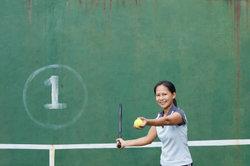 Auch beim Tennis ist eine gute Kondition sehr wichtig.