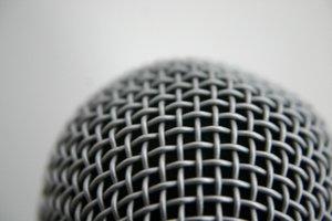 Unverzichtbar beim Beatboxen - das Mikro.