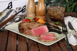 Angus-Steak ist sehr zart.