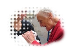 Betreuung demenzkranker Menschen gehört zu den Aufgaben eines Pflegehelfers.