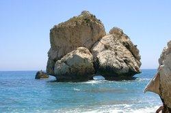 Ein Strand auf Zypern.