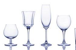 Blindes Glas können Sie einfach reinigen.