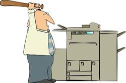 Wenn Ihr HP-Drucker pausiert, kann ein Papierstau die Ursache sein.