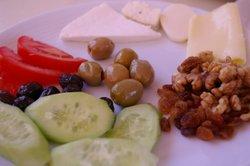 Ein türkisches Frühstück ist sehr vielseitig.