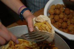 Falafel - ein beliebter Snack