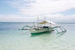 Das Boot eignet sich auch für Ausflüge auf dem Meer.
