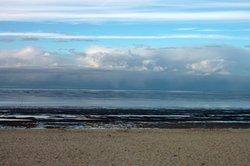 Wandern bei Ebbe an der Nordsee