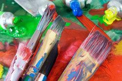 Grelle Farben und grobe Formen zeichnen den Expressionismus aus.