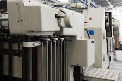 Industrielle Druckmaschinen sind sehr leistungsfähig.