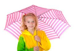 Beantworten Sie sich selbst, ob Sie einen Schirm brauchen werden.