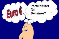 Die Euro 6 wird auch Partikelfilter für Benziner notwendig machen.