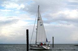 Auch auf der Nordsee macht das Segeln Spaß.