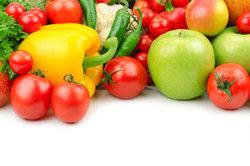 Es erfordert viel Vorbereitung, damit das Gemüse auf dem Bild so frisch aussieht.