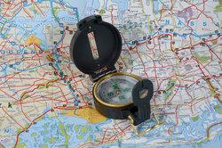 Karte und Kompass sind heutzutage überflüssig.