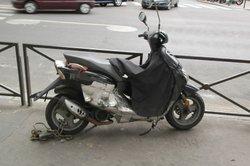 Ein Motorroller für zügiges Vorankommen