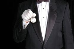 Ein Butler ohne Frack ist in viktorianischer Zeit undenkbar.