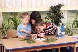 Einsatz im Kindergarten.