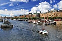 Camping ist auch in Stockholm möglich.