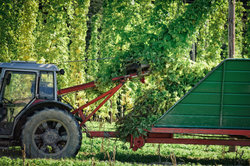 Traktoren im Landwirtschaftsbetrieb sind von der Kfz-Steuer befreit.