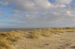 Strand an der ostfriesischen Nordseeküste