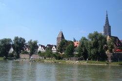 Die Donau bei Ulm