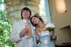 Vor einer lustigen Rede können Sie sich als Bräutigam nicht drücken.