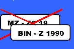 Nach über 40 Jahren wieder möglich, das alte Kfz-Kennzeichen.