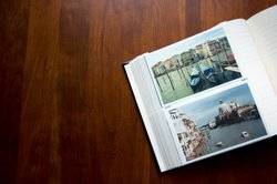 Im Fotoalbum findet man viele Motive für ein Memory.