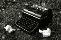 Schreibmaschinen haben einen gewissen Charme.
