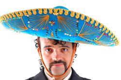 Mexikanische Musikergruppen trifft man häufig in Restaurants an.